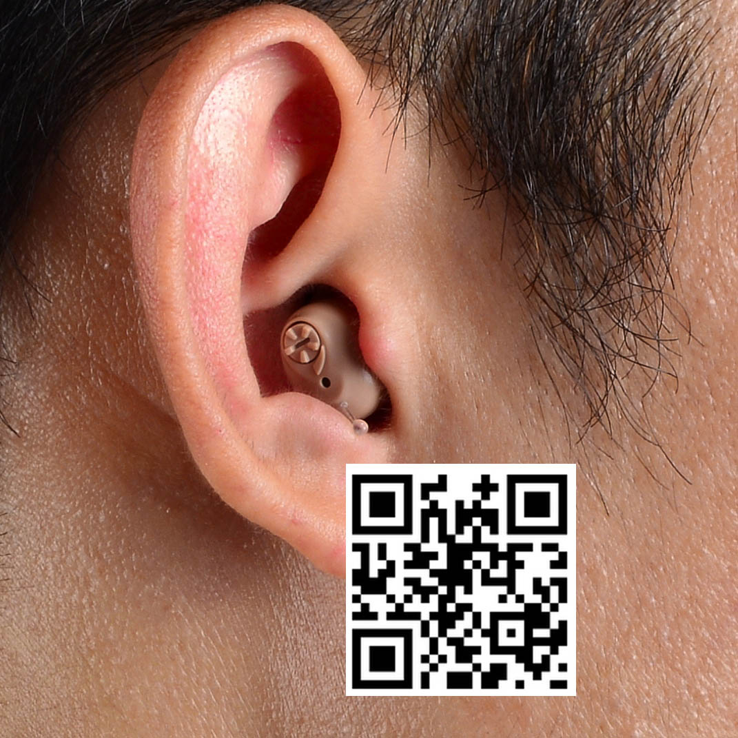 NEW Invisible Hearing Aid