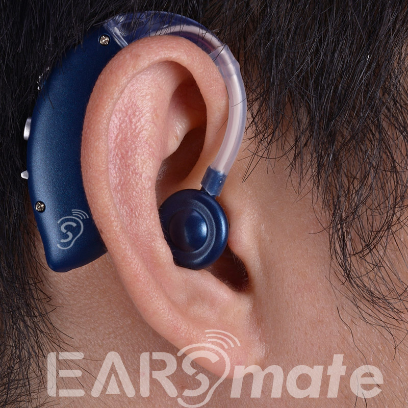 Rechargeable hearing aid behind the Ear